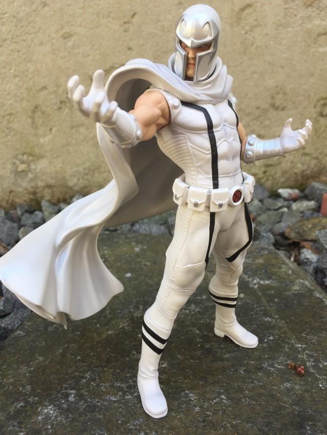 Magneto White Ver. Exclusive ARTFX Kotobukiya Statue 2016