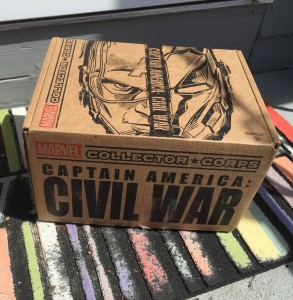 Civil War Collector Corps Box Spoilers Review Unboxing
