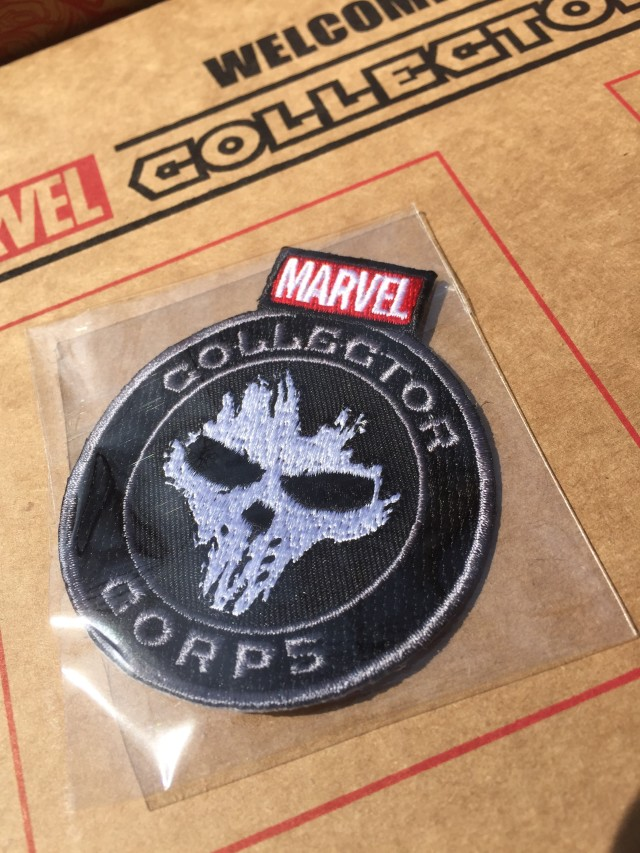 Marvel Collector Corps Crossbones Patch