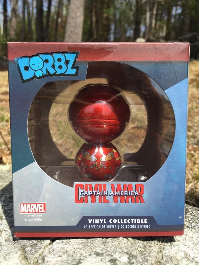 Exclusive Iron Man Unmasked Dorbz MCC Vinyl Figure