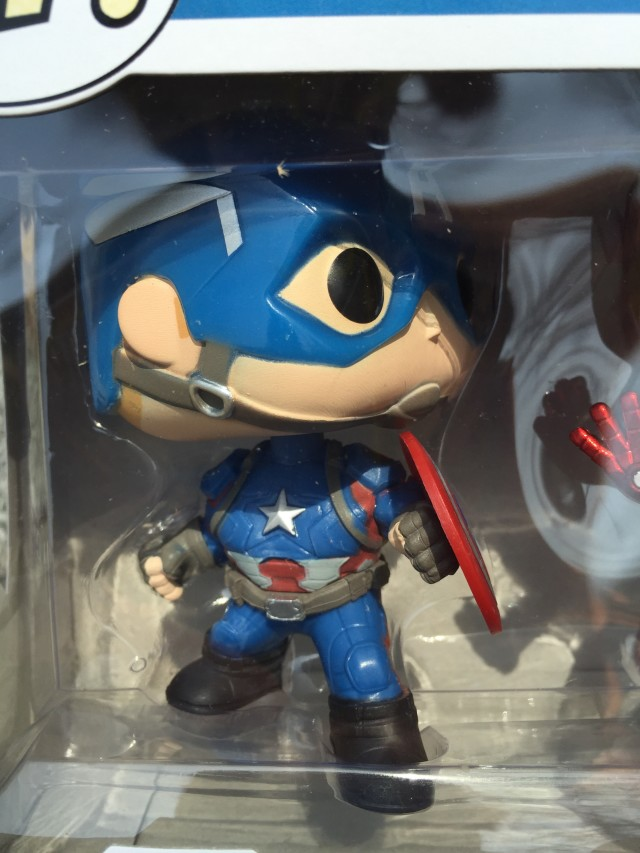 Exclusive Collector Corps Captain America POP Vinyl Civil War