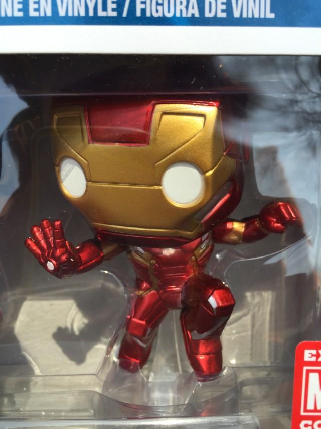 Marvel Collector Corps Civil War Iron Man POP Vinyl Exclusive Figure