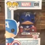 Exclusive Funko 75th Anniversary Captain America POP Vinyl!
