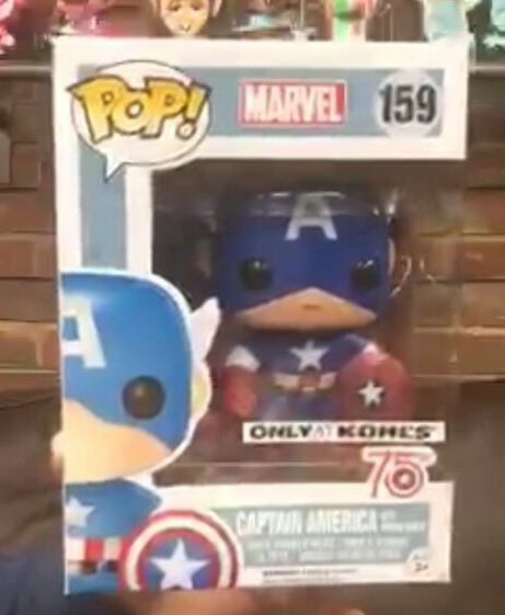 Exclusive Funko 75th Anniversary Captain America POP Vinyls Figure Revealed