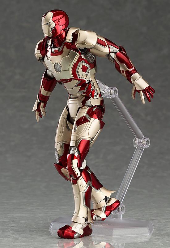 figma iron man mark 42 amp 43 figures revealed amp photos