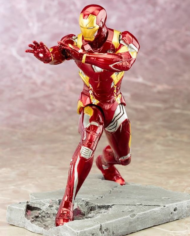 Iron Man Civil War Kotobukiya ARTFX+ Statue