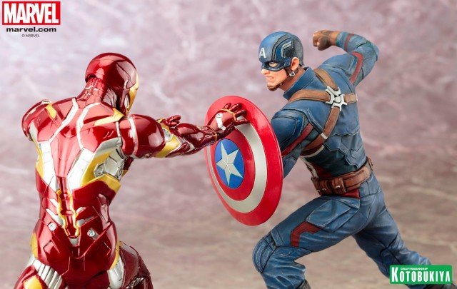 Kotobukiya Captain America Civil War ARTFX Statues