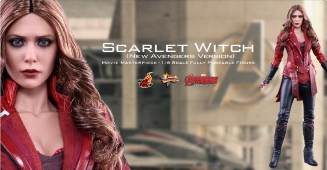 MMS357 Hot Toys Scarlet Witch New Avengers Figure Exclusive Announcement