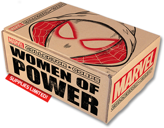 Marvel Collector Corps June 2016 Women of Power Box