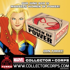 Marvel Collector Corps Women of Power Captain Marvel
