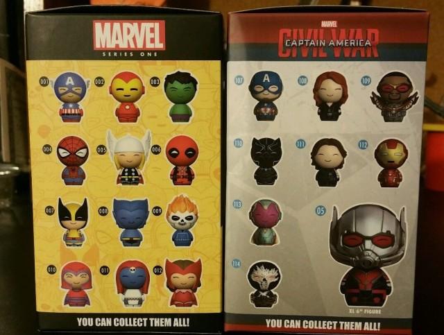 Marvel Dorbz Gamestop Exclusives Suit Vision GITD Hulk Box Sides