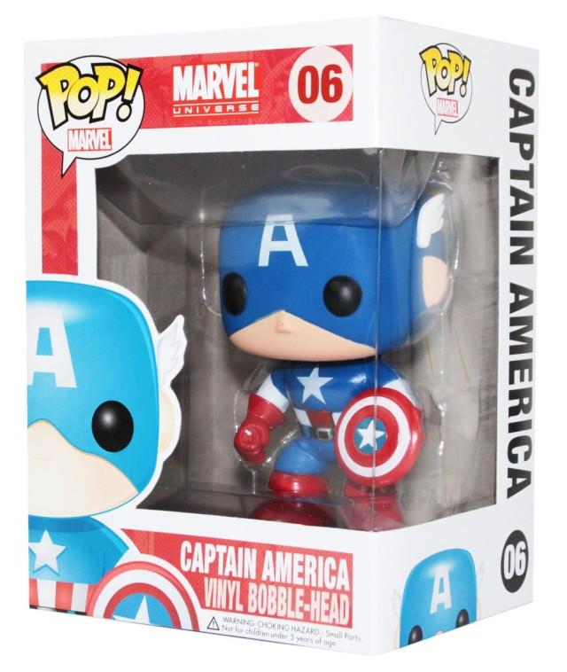 Original Captain America Funko POP Vinyls Figure