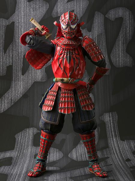 Samurai Spider-Man Figuarts Manga Realization Figure