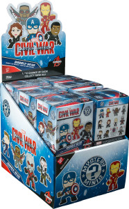 Walgreens Captain America Civil War Mystery Minis Exclusives Case