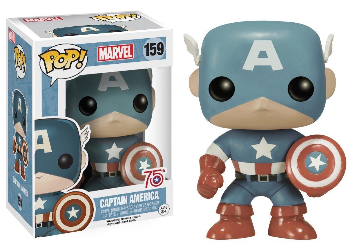 Exclusive Funko Sepia Captain America Pop Vinyl Pre Order
