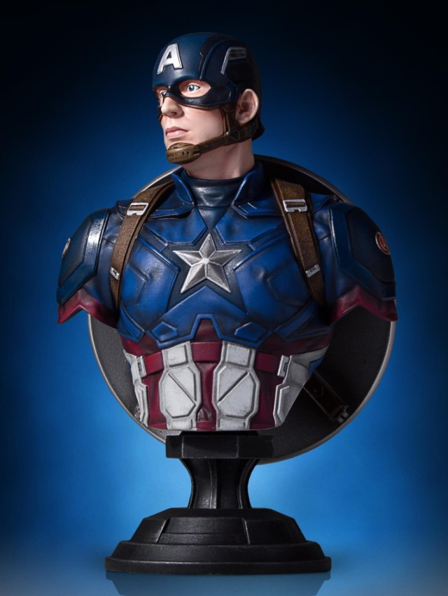 Captain America Civil War Movie Mini Bust