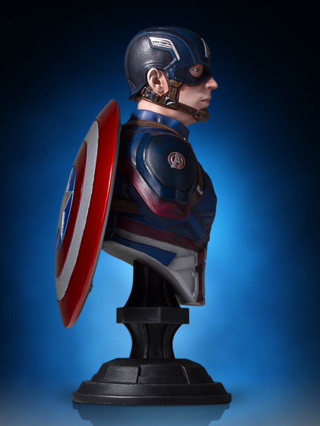Civil War Captain America Mini Bust