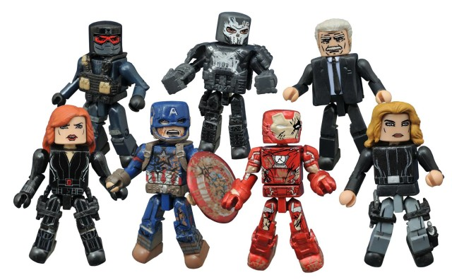 Civil War Minimates Series 2 Figures