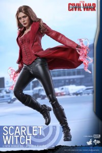 Civil War Scarlet Witch Hot Toys Sixth Scale Figure Flying