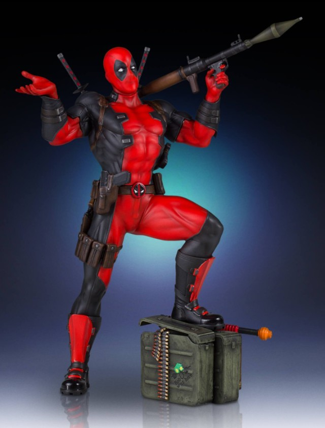 Deadpool Collectors Gallery Gentle Giant Statue