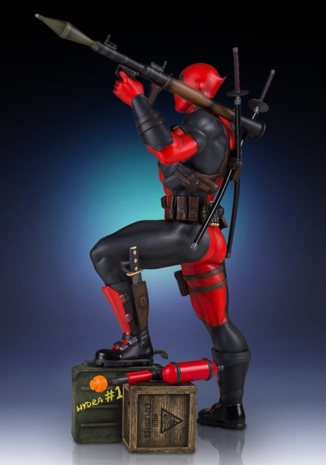 Deadpool Gentle Giant Collectors Gallery Statue