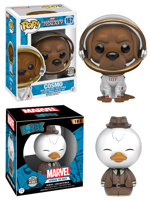 Funko Specialty Series POP Dorbz Cosmo Howard the Duck