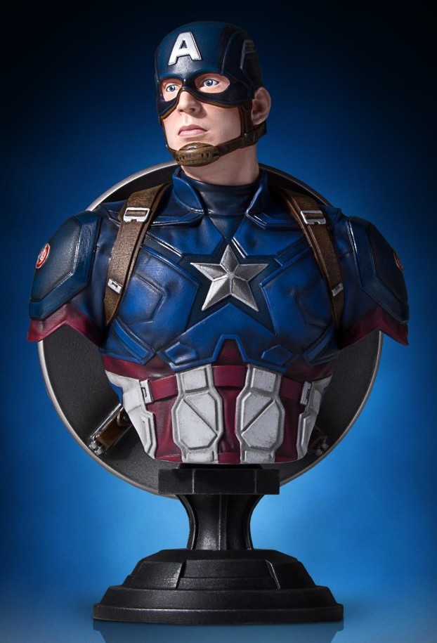 Gentle Giant Captain America Civil War Bust