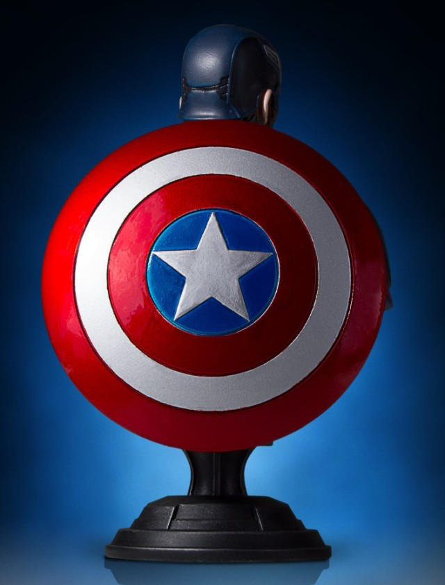 Gentle Giant Civil War Captain America Mini Bust Shield