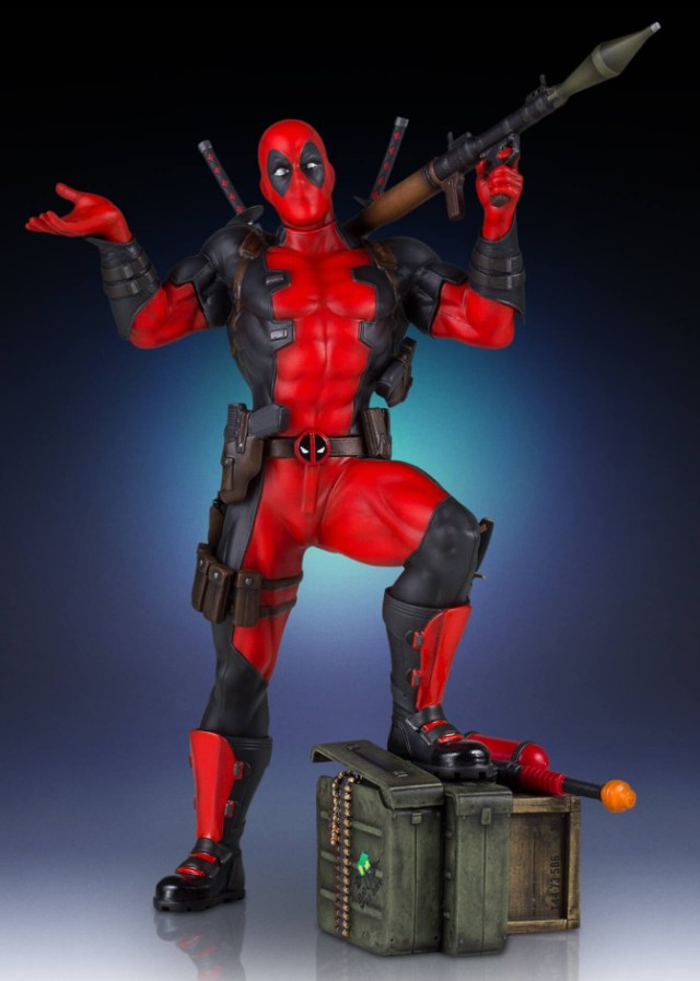 Gentle Giant Deadpool Collectors Gallery Statue