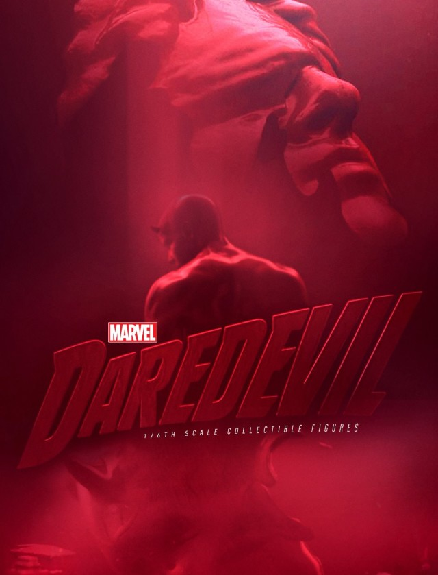 Hot Toys Netflix Daredevil Figures Teaser Photo
