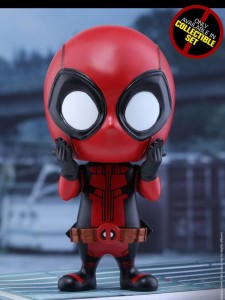 Hot Toys Shocked Deadpool Cosbaby Vinyl Figure