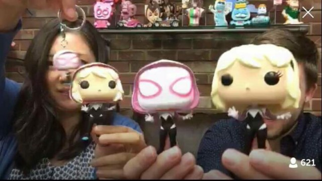 Funko Unmasked Spider-Gwen POP Vinyls Exclusives