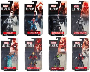 Marvel Legends 2016 4 Inch Series 3 Figures Case Ratios
