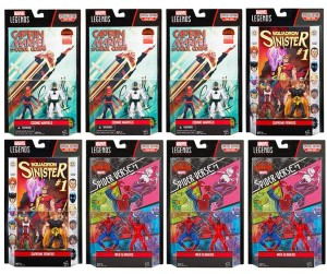 Marvel Legends 4 Inch Two-Packs Wave 2 Case Breakdown