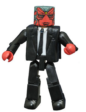 Marvel Minimates Civil War Vision in Suit Figure SDCC Exclusive