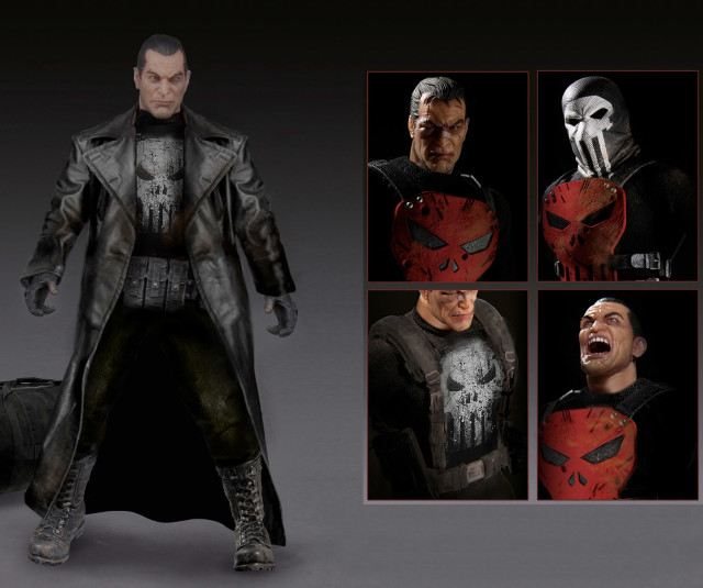Mezco One 12 Collective Punisher Variants Thunderbolts Masked