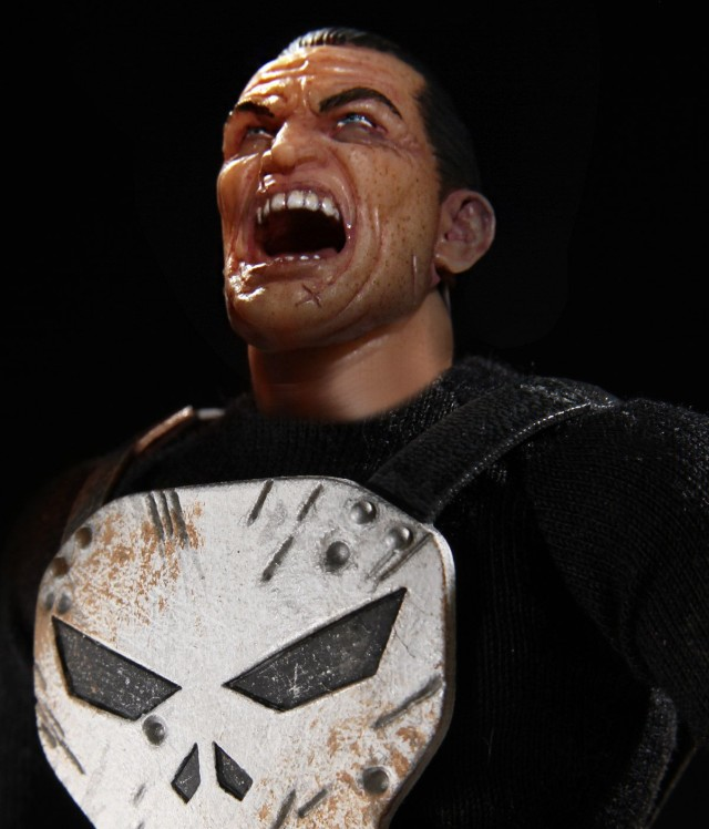 Mezco Punisher Alternate Yelling Head