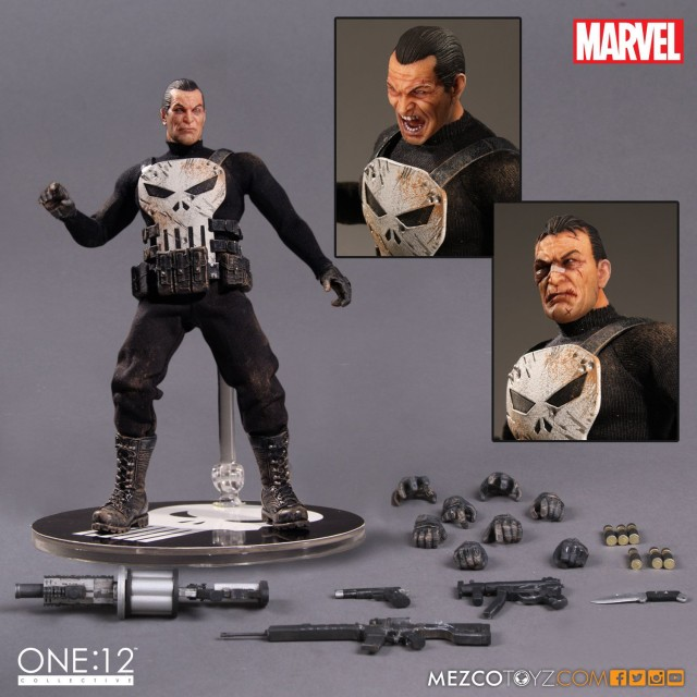 ONE 12 Collective Punisher Figure and Accessories