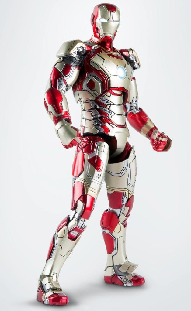 comicave iron man mark 42 diecast 6quot figure revealed