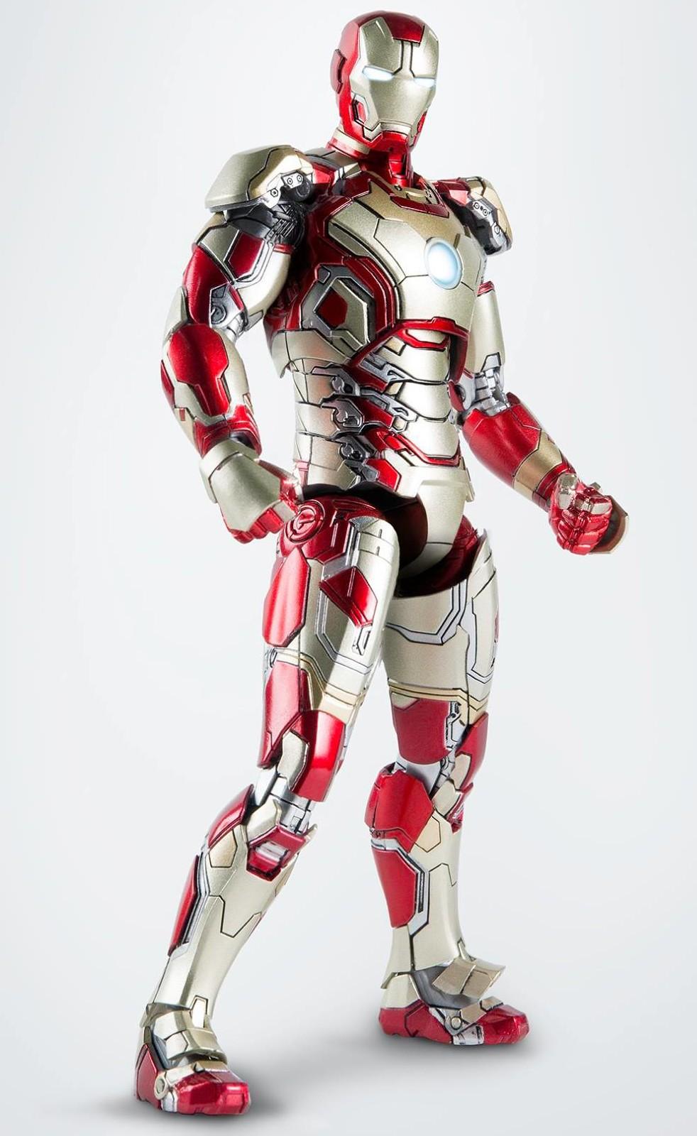 comicave iron man mark 42 die cast 6 figure revealed. Black Bedroom Furniture Sets. Home Design Ideas