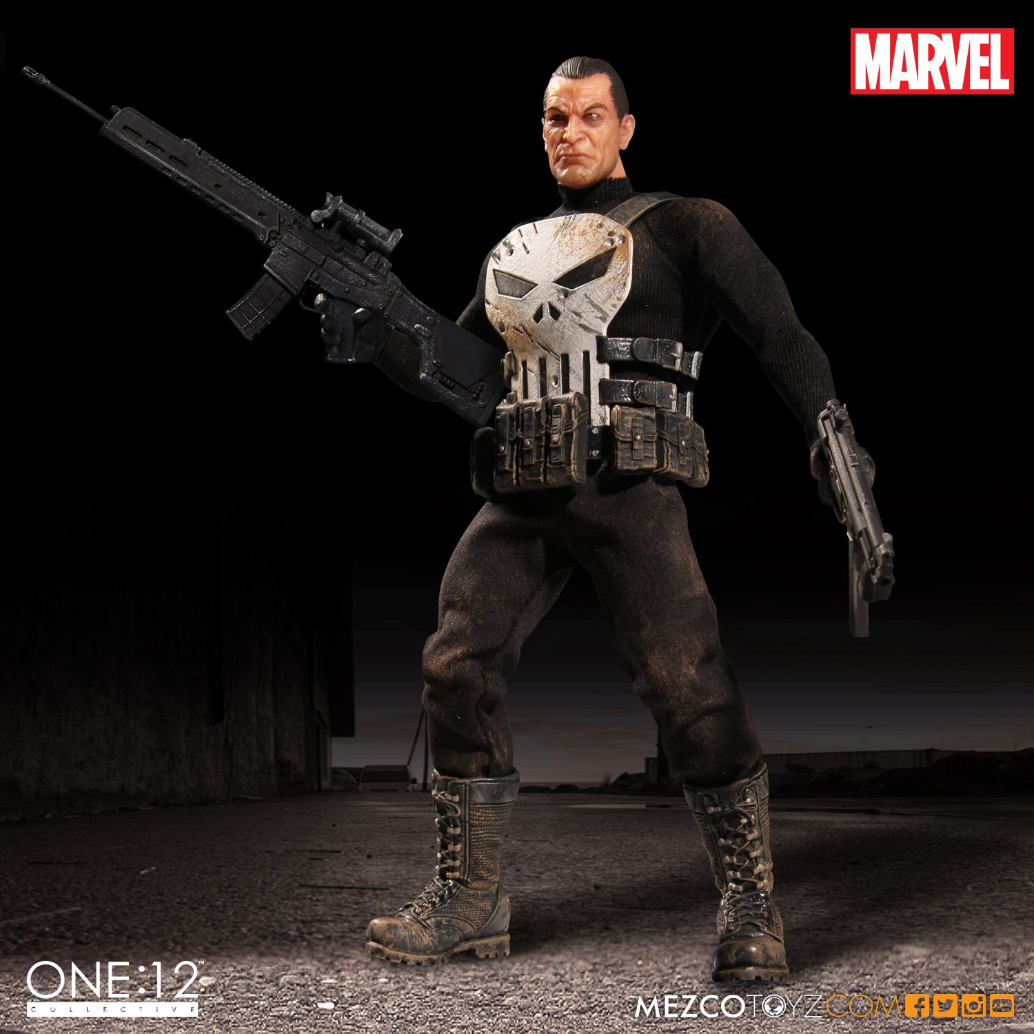 Mezco Punisher One 12 Collective Figure Up For Order