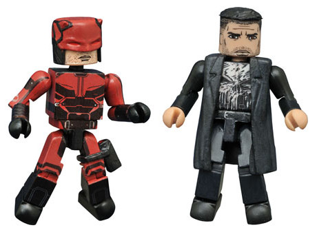 SDCC 2016 Exclusive Netflix Daredevil Punisher Minimates Figures