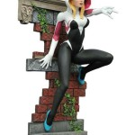 SDCC 2016 Exclusive Statues! Unmasked Spider-Gwen!