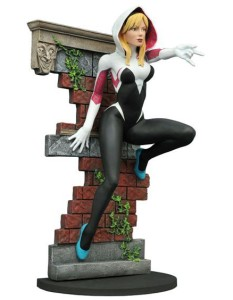 SDCC Exclusive Unmasked Spider-Gwen Statue Marvel Gallery
