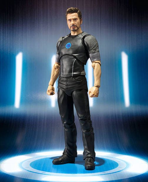 SH Figuarts Iron Man 3 Tony Stark Figure