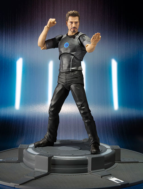Tony Stark S.H. Figuarts Iron Man 3 Six Inch Action Figure