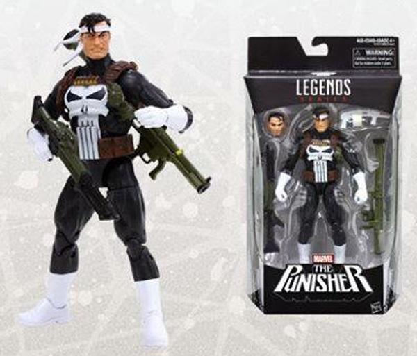 Walgreens Exclusive Jim Lee Punisher Marvel Legends Figure
