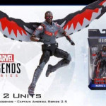 Marvel Legends Civil War Falcon & Winter Soldier 6″ Figures!