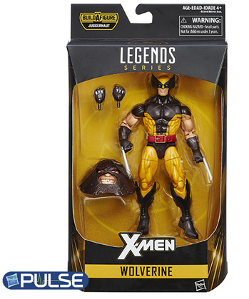 Wolverine Marvel Legends X-Men Juggernaut Build-A-Figure Series Packaged