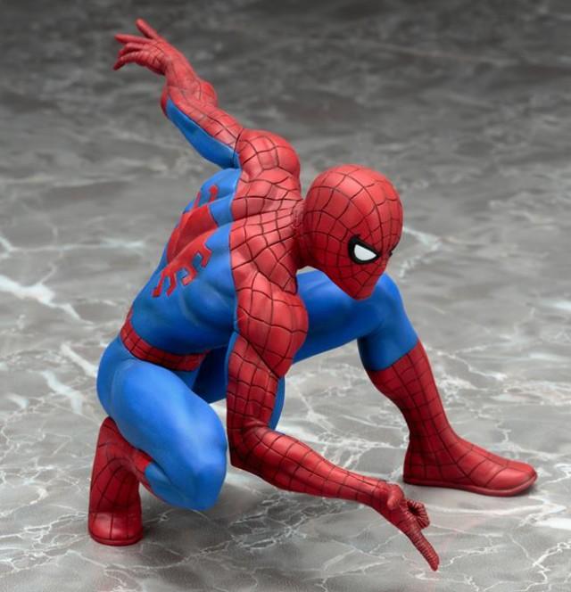 Amazing Spider-Man Kotobukiya ARTFX+ Statue
